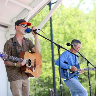 Live music at Spring Fest in Old Ellicott City