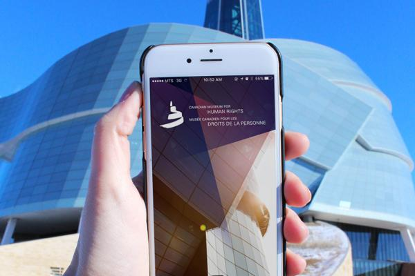 The use of technology at the Canadian Museum for Human Rights