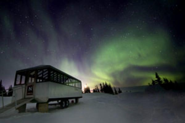 Northern Lights Viewing in Manitoba
