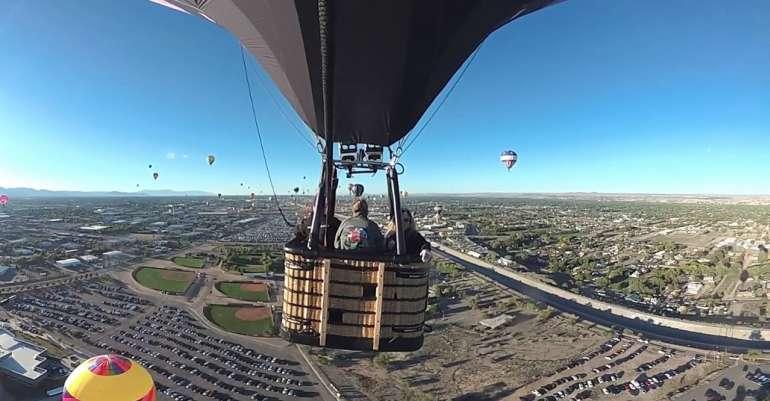 Balloon Fiesta Flight, in TRUE 360º