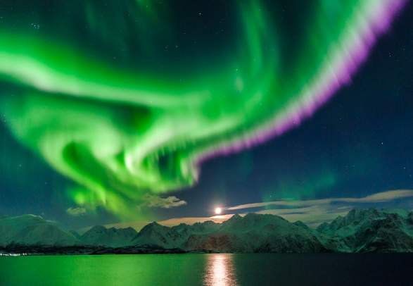 how to take photos of northern lights