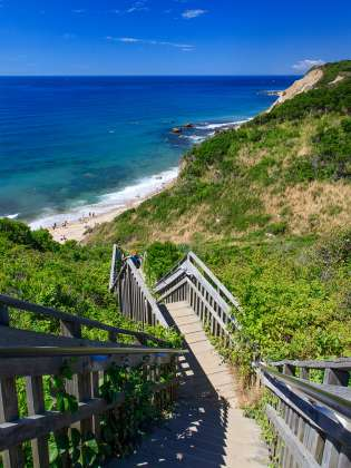 Mohegan Bluffs -Block Island