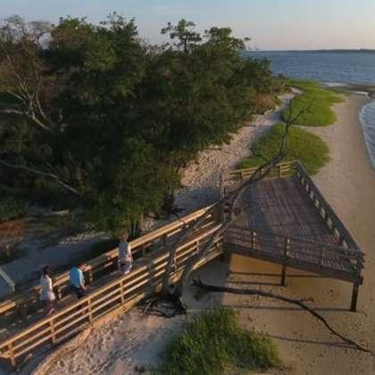 Carolina Beach Drone Videos
