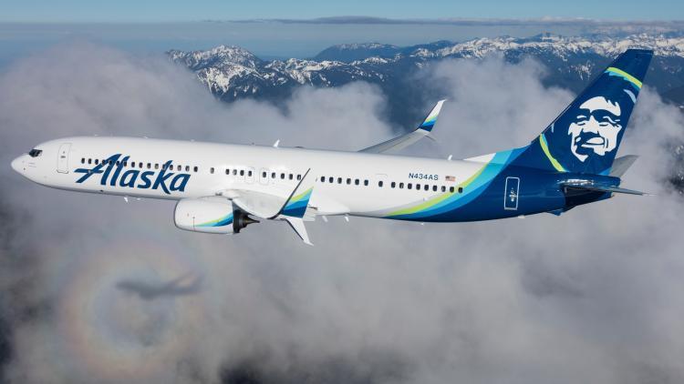 Alaska Airlines Jet