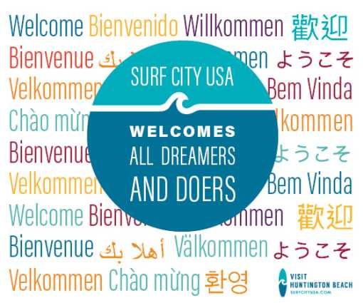 Welcome Dreamers and Doers Window Decal