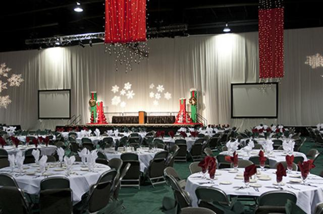 Banquet Setup at the Mountain America Expo Center