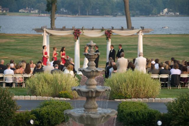 Bucks county pennsylvania outdoor wedding venues weddings by the water junglespirit