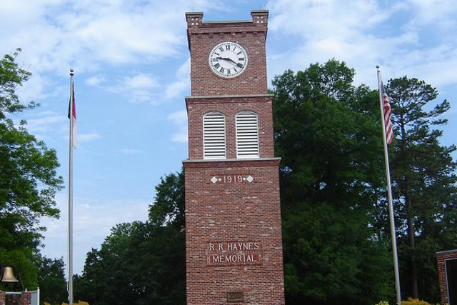 Haynes Memorial Clock Tower