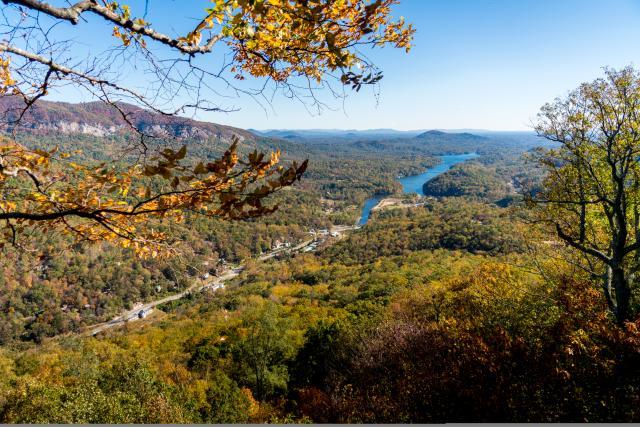 Fall Color across the Lake