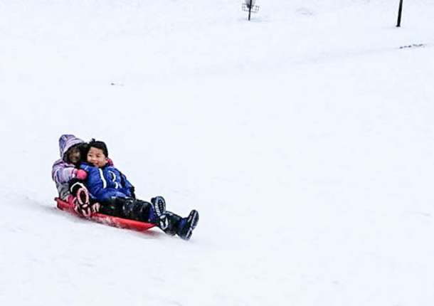 The Best Sledding