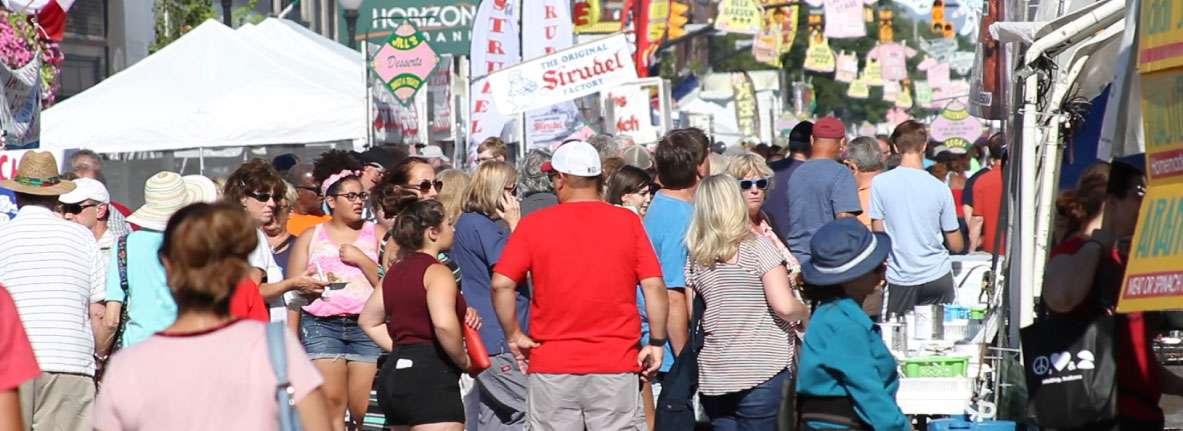 Pierogi Fest Crowd