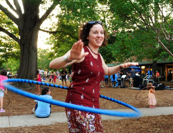 Hula Hooping at Weaver Street Market.jpg