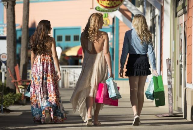 Shopping at Pier Park