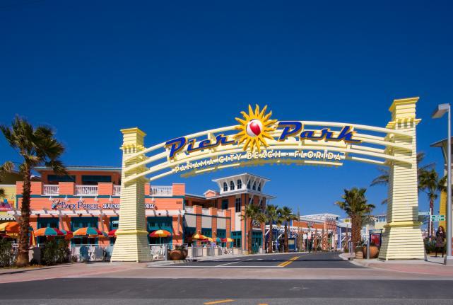 Pier Park Shopping Panama City Beach Florida