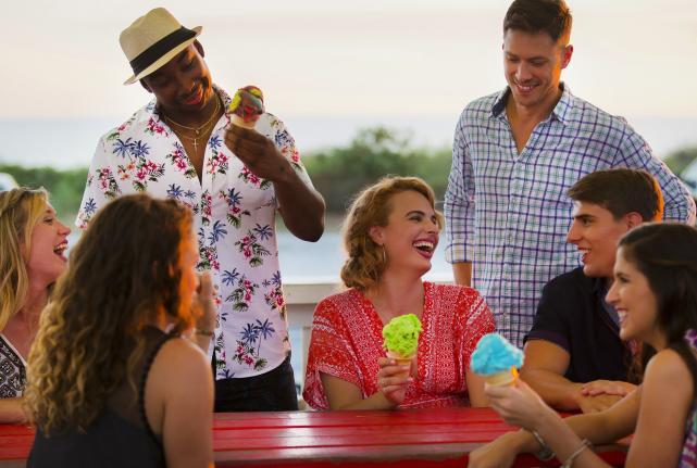 Millennials Eating Ice Cream