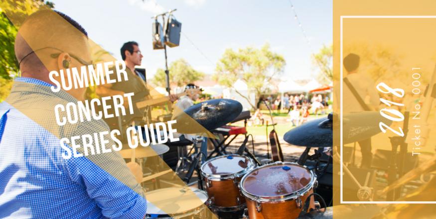 2018 SLO CAL Summer Concert Guide