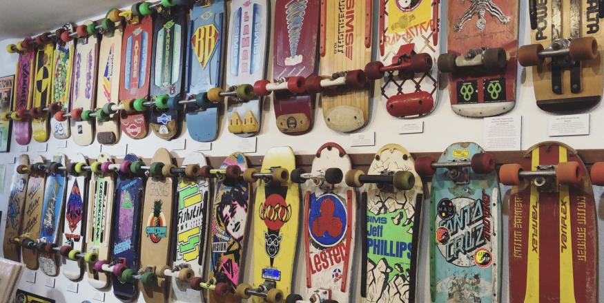 Fun With Kids at the Morro Bay Skateboard Museum