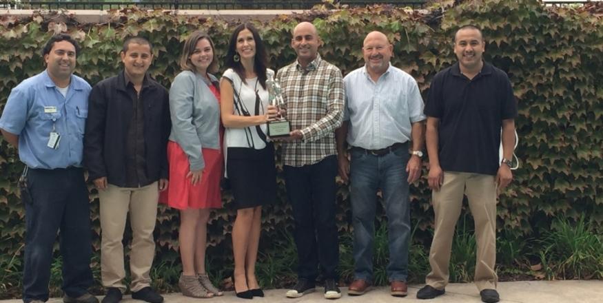 Holiday Inn Express & Suites of Atascadero WINS IHG® 2015 TORCHBEARER AWARD