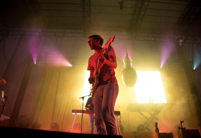 Glass Animals at Red Hat Amphitheater