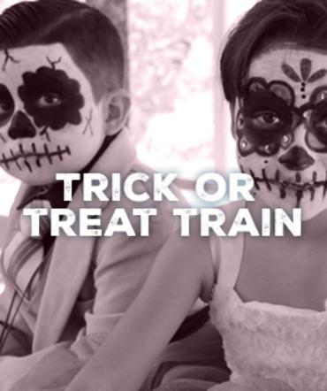 Trick or Treat Train
