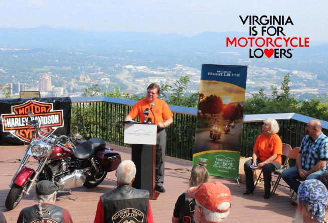 Visit Virginias Blue Ridge Announces The Merging Mountains HOG - Us hog rallies 2017 map