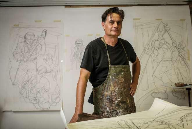 Artist Jim Vogel