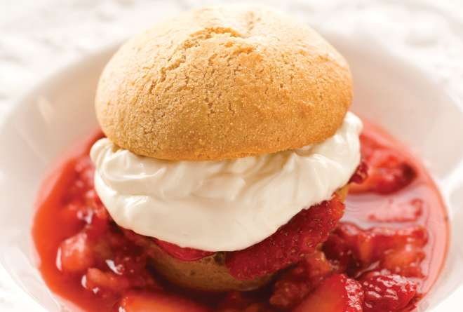 Douglas Merriam's Farmer's Market Strawberry Shortcake