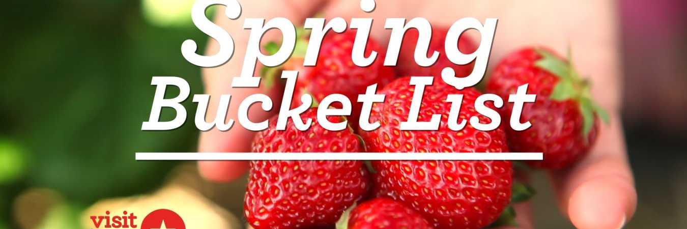 Hamilton County Spring Bucket List