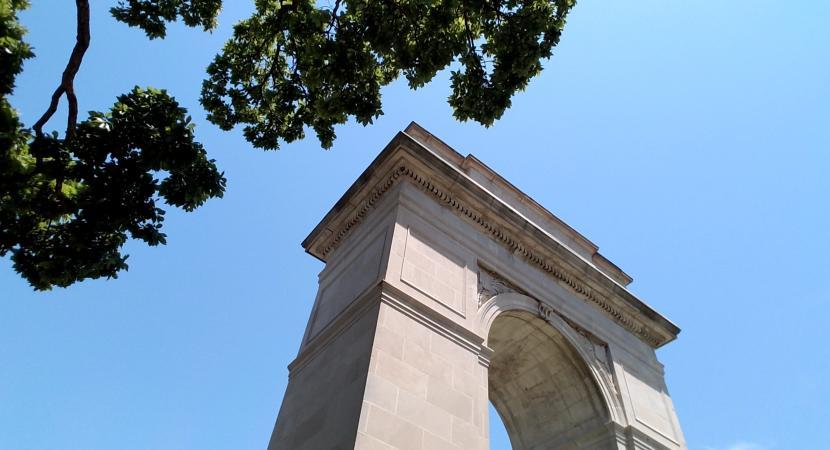 Rosedale Memorial Arch