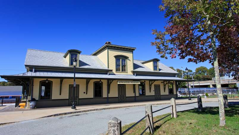 Kingston Train Station -West Kingston-South County