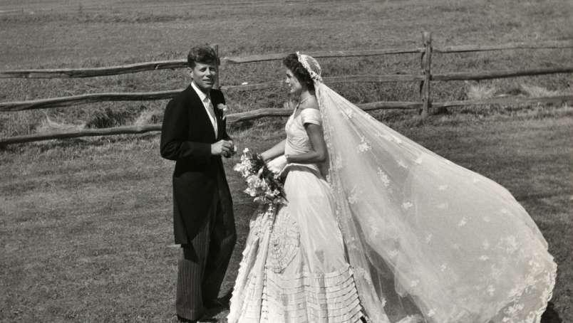 JFK & Jackie Kennedy Wedding