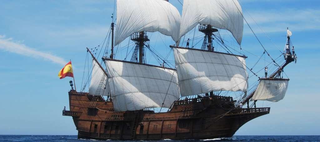 фото корабль галеон