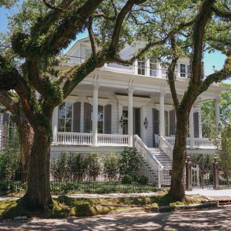 Garden District, architecture