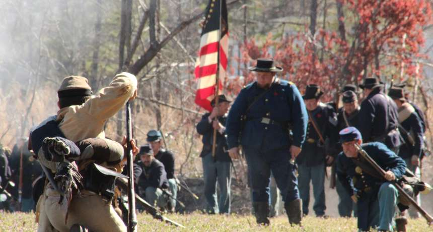 Oak Grove Civil War Reenactment