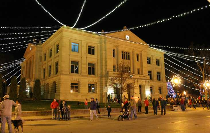 Christmas on the Square in Danville, IN