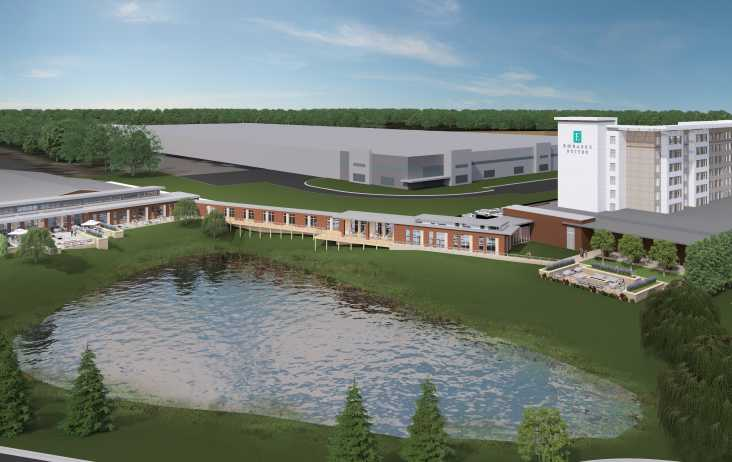 Embassy Suites Hotel & Conference Center rendering