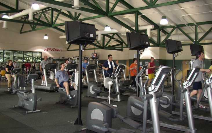 Exercise Equipment at Plainfield Recreation Center