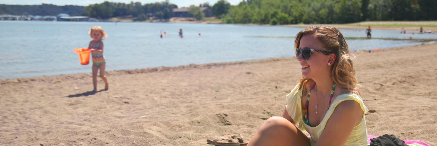 Fairfax Beach on Lake Monroe