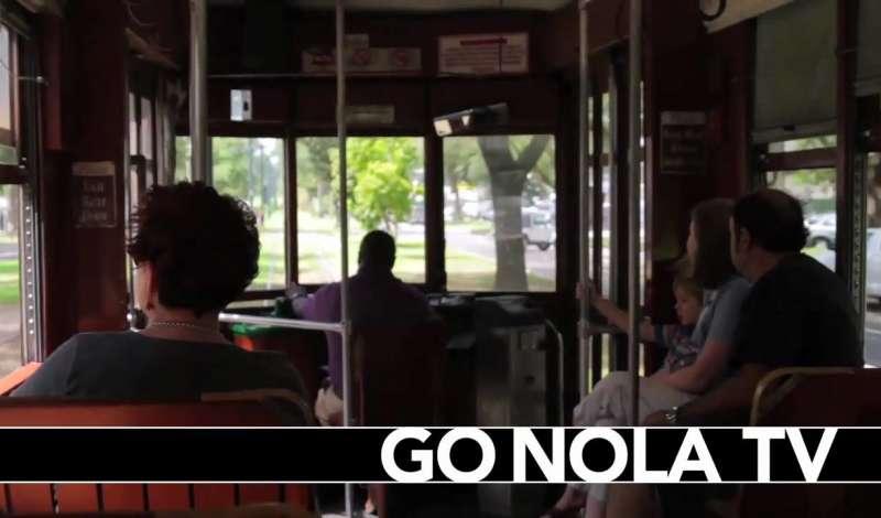 A St. Charles Streetcar Ride Through New Orleans
