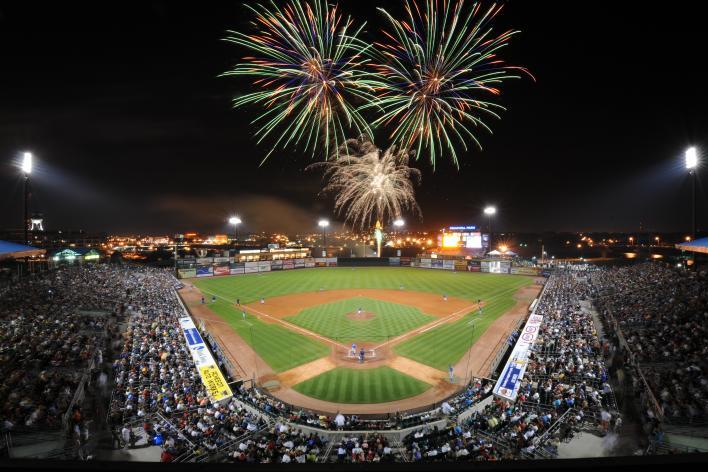 Iowa Cub Fireworks Principal Park