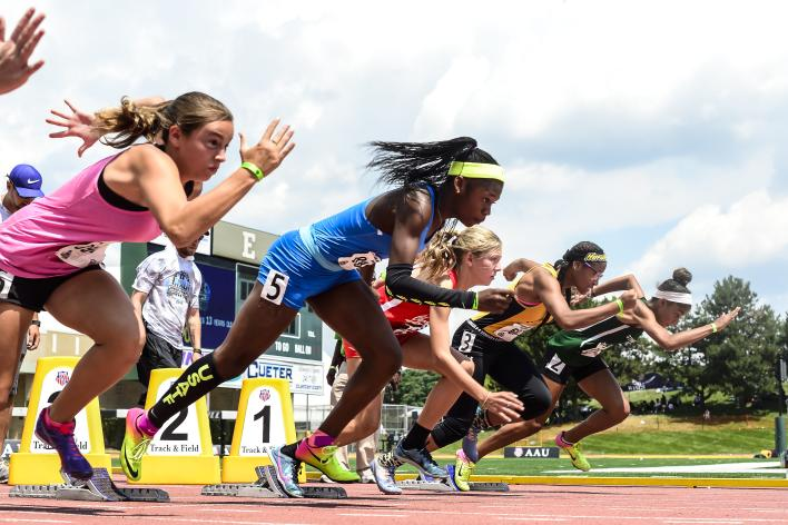AAUJO girls track 2017