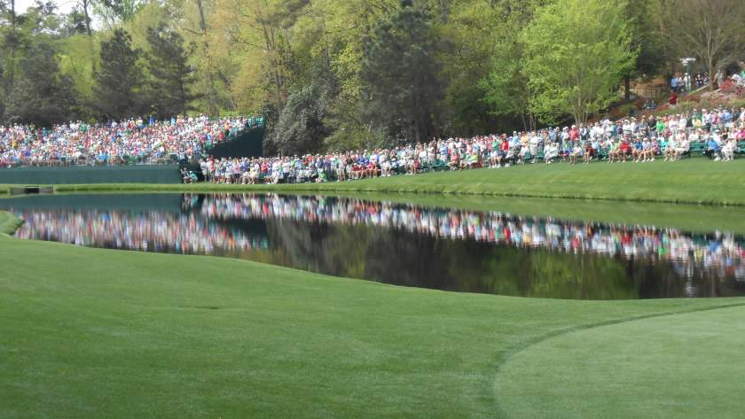Masters crowd