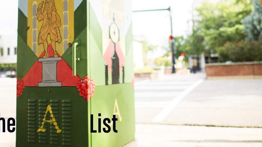 The A List Blog Header