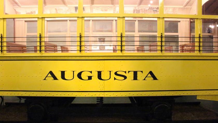 Augusta Museum Trolley