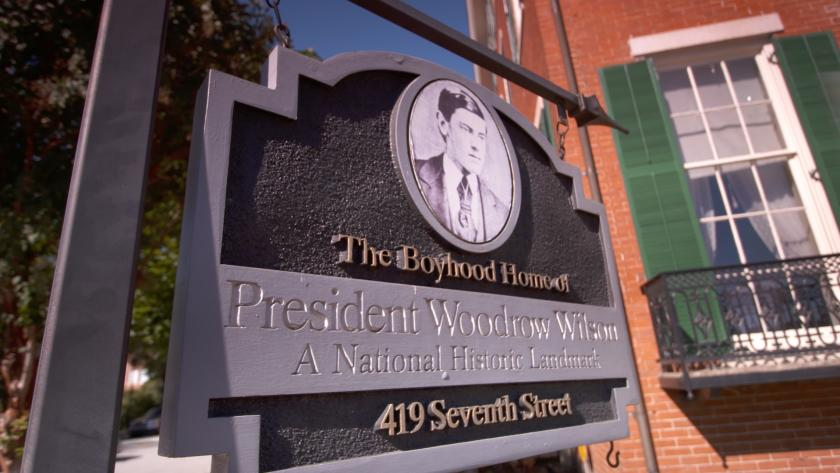Boyhood Home of Woodrow Wilson