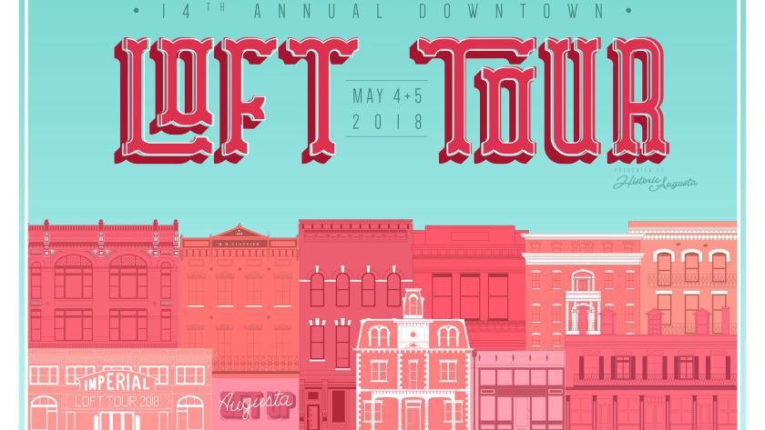 downtown loft tour augusta ga