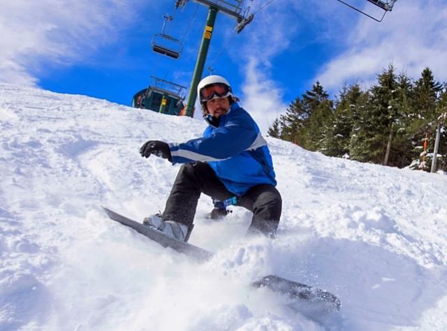 Belleayre Mountain -snowboarding