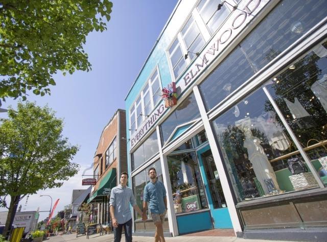 LGBT - Buffalo Elmwood Avenue - Photo by Rhea Anna