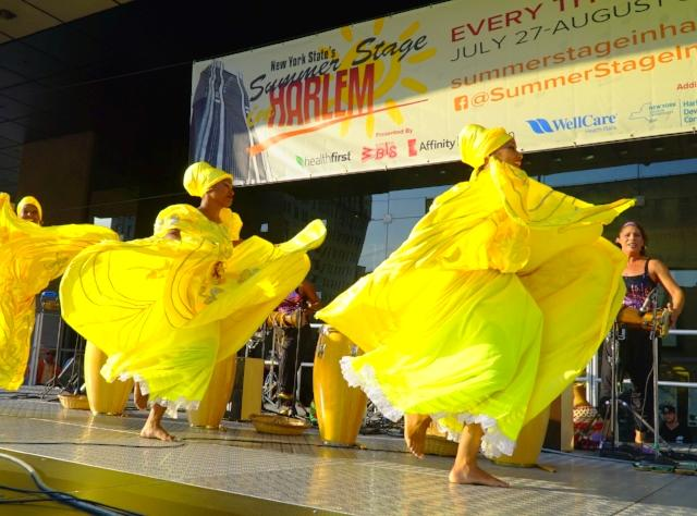 Cuban Dance Co. at summerstage Harlem