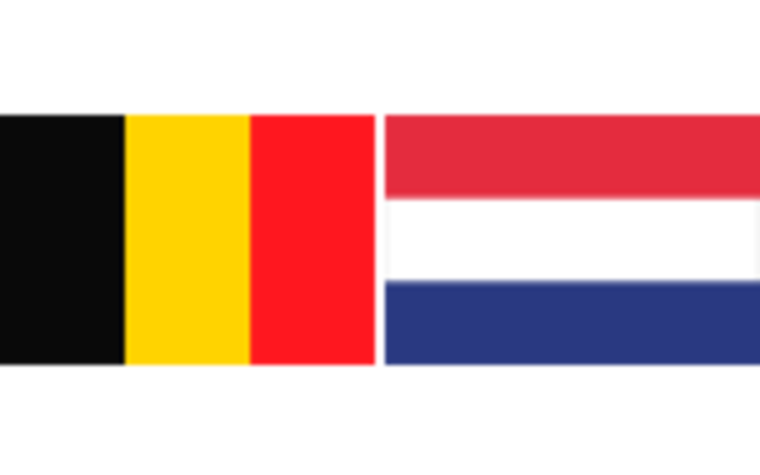 Flag - Belgium and the Netherlands